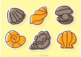 Sea Shell Vector Icons