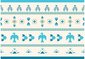 Native American Vector Pattern Eagles and Goose