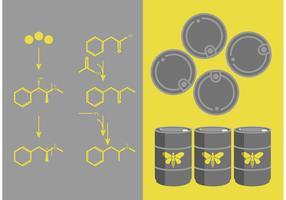 Breaking Bad Meth Chemistry Vector Set