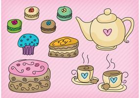 High Tea Party Vectors