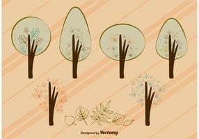 Autumn Vector Tree Leaves