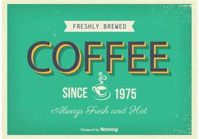 Vintage Coffee Poster