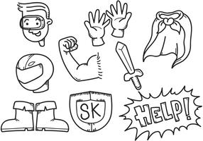Superkids Boy Vectors