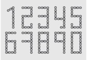 Bike Chain Number Vectors