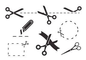 Scissors Coupon Vectors