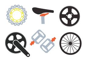 Bike Sprockets Vectors