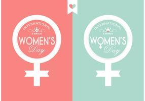 Free Vector Women's Day Typography Design