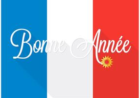 Free Bonne Année Vector Background