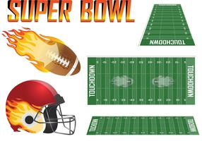 Super Bowl Vector Set