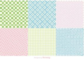Pastel Geometric Backgrounds