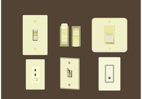 Light Switch Free Vector