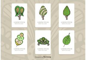 Tree Illustration Cards