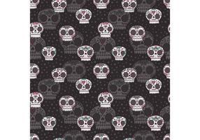 Free Dia de Los Muertos Vector Pattern