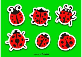Ladybug vector cartoon