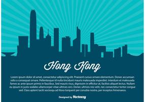 Hong Kong Skyline Illustration