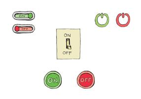 Free On/Off Button Vector Series