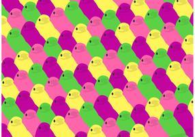 Easter Peeps Pattern Free Vector