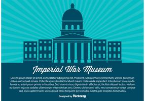 Imperial War Museum Vector Illustration