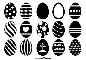 Easter Egg Vector Shapes