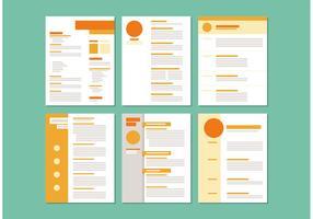 Curriculum Vitae Layout Templates