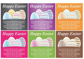 Easter Vector Cards