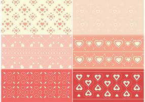 Free Vector Valentine's Day Pattern