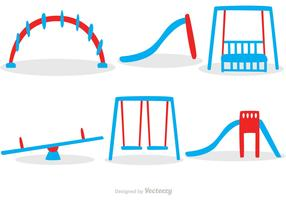 Playground Sets Icons Vector Pack