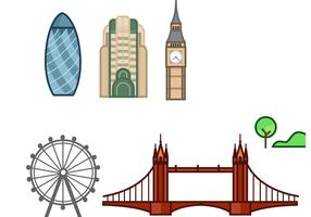London Stroke Art Vector