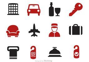 Hotel Icons Vectors