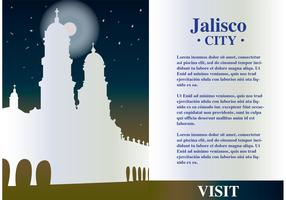 Jalisco Mexico Background Vector