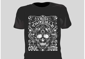 Free Vector Grunge T Shirt Design