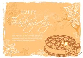 Free Happy Thanksgiving Vector Illustration