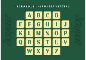 Scrabble Alphabet Letters Vector Free