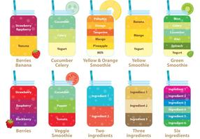 Smoothie Vector Recipes