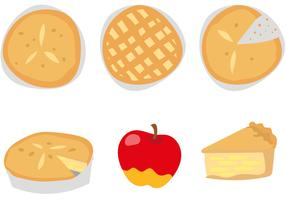 Delicious Apple Pie Vectors