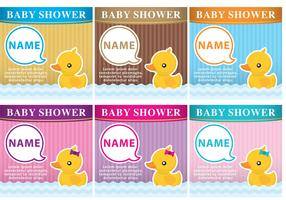 Baby Shower Rubber Duck Invitations