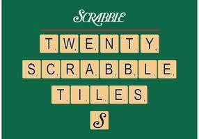 Scrabble Tiles Vector Free