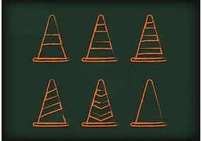 Orange Cone Vectors