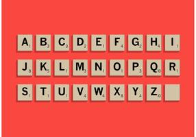 Scrabble Letter Tiles Set