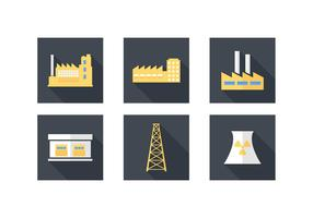 Free Industrial Building Vector Icons