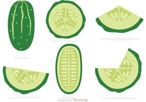 Slices Of Cucumber Vectors