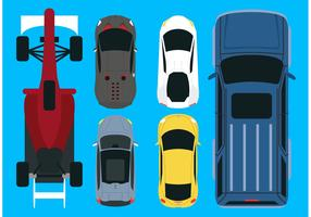 Vector Car Aerial View Pack