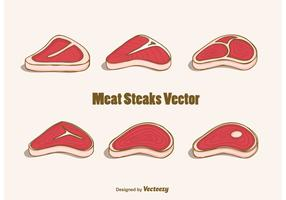 Free Meat Steaks Vector