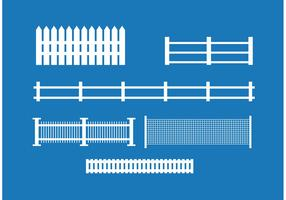 Picket Fence Vector Set