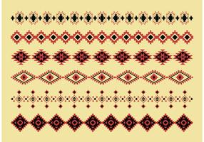 Native American Pattern Vectors
