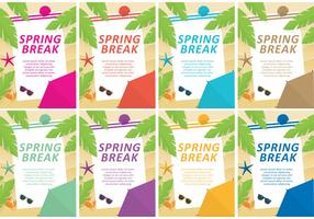 Spring Break Vector Templates