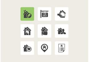 Free Real Estate Vector Icons