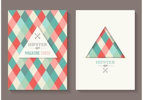 Free Hipster Magazine Covers Vector