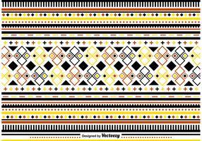 Ornamentos elegantes de padrões populares