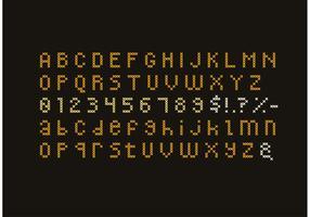 Cross Stitch Alphabet Set